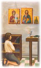 Τα παιδιά ο εκκλησιασμός και η προσευχή
