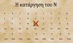 Tὰ γράμματα  «Ν»  καὶ  «Σ»  καὶ ἡ κατάργησίς των